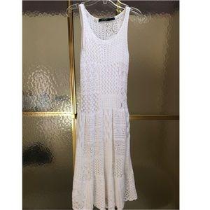 Polo Ralph Lauren white knit dress